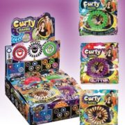 Curly Bands Retail Box
