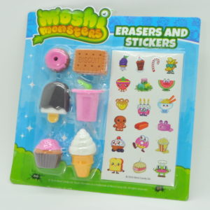 Cute Erasers & Stickers