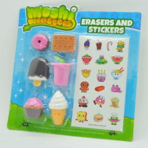 Cute Erasers & Stickers